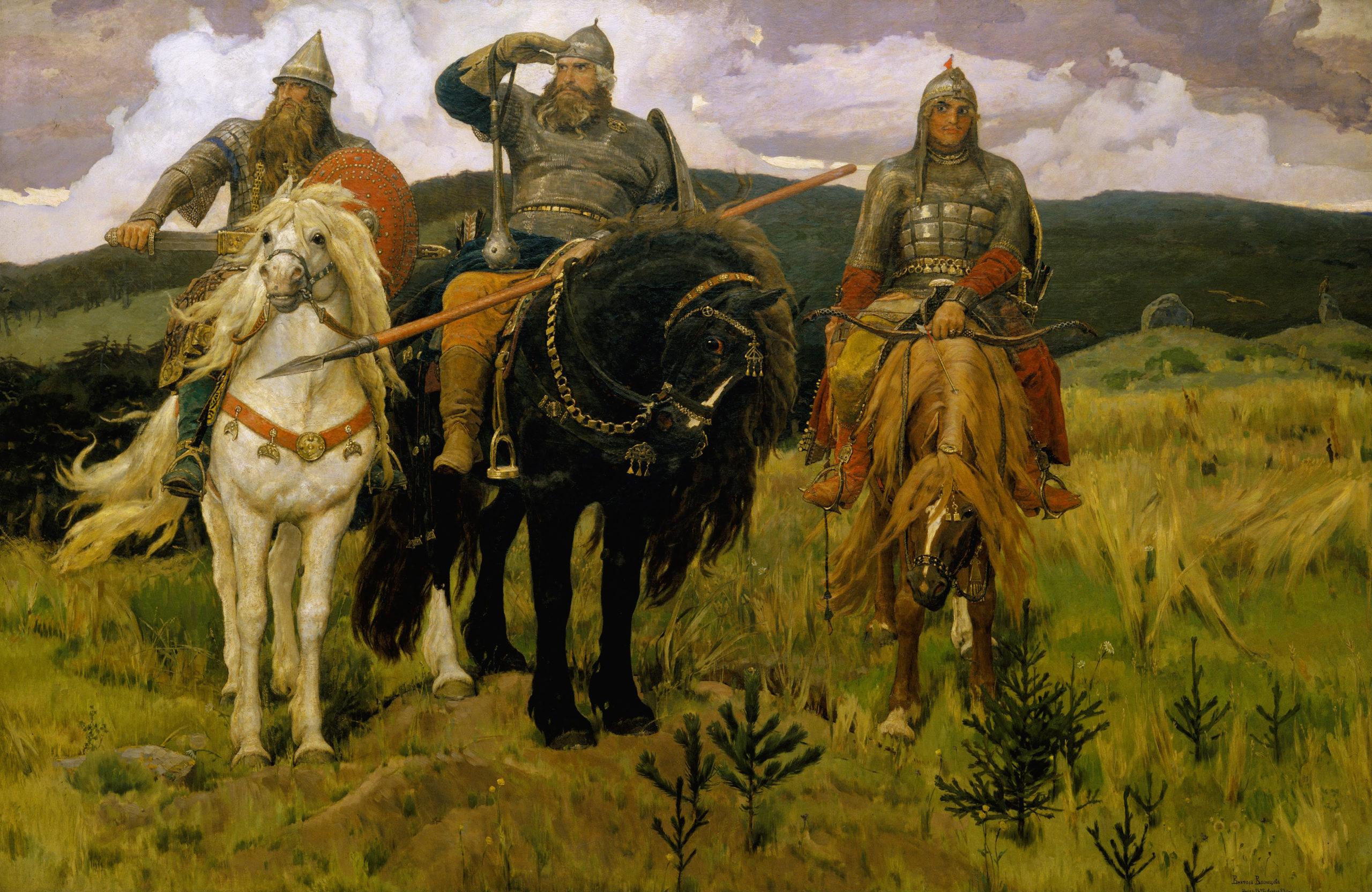Виктор Васнецов, Богатыри