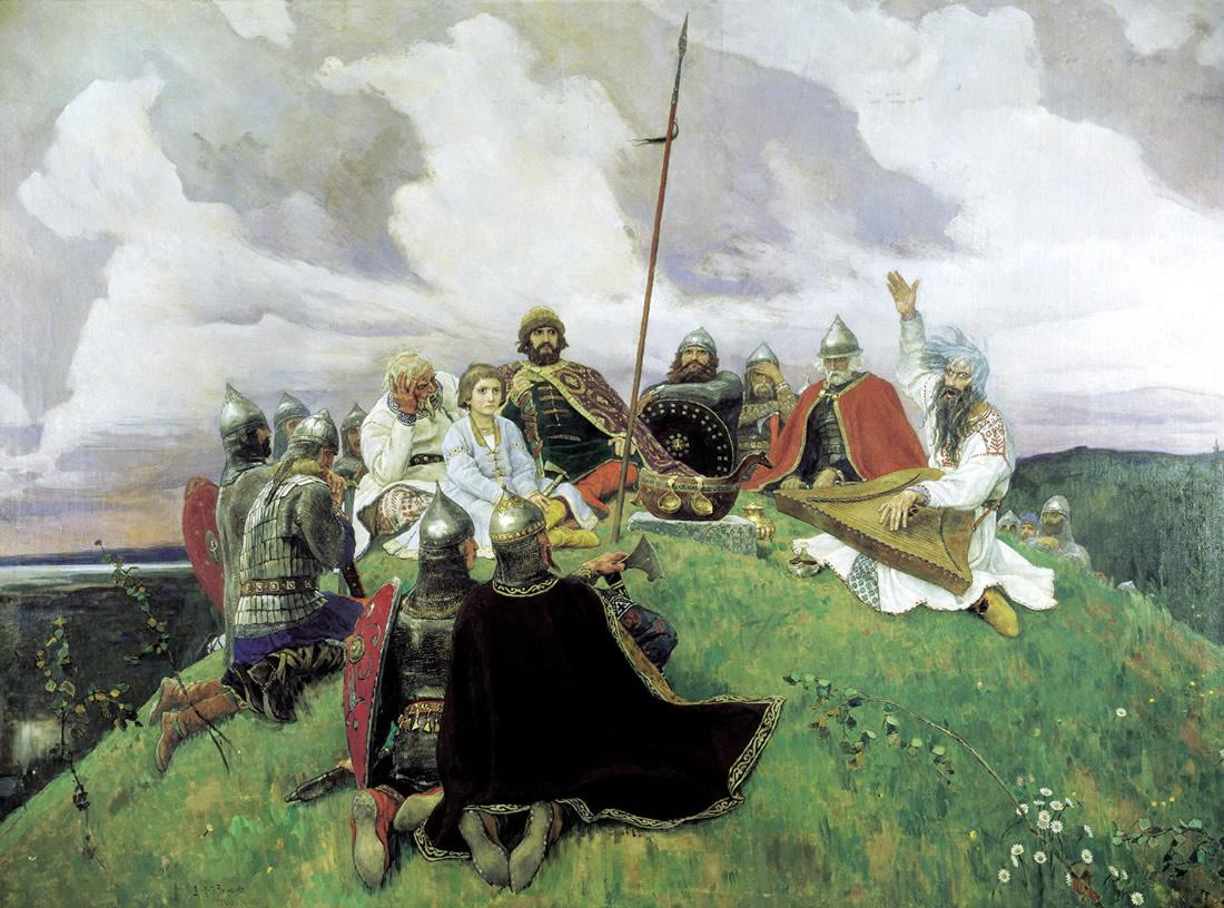 картина Васнецова Баян