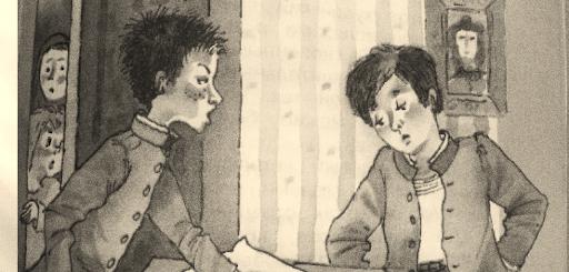 иллюстрация к рассказу Мальчики