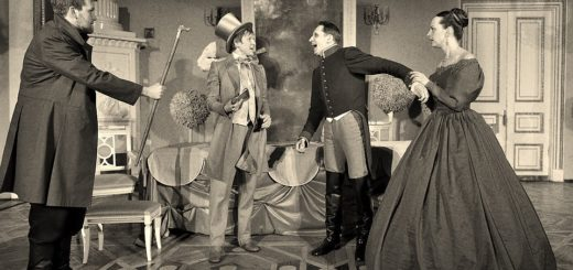 иллюстрация к пьесе Ревизор