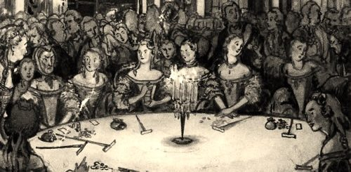 иллюстрация к пьесе Пиковая дама